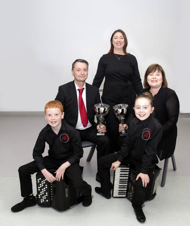 Champs: Members of the Accora Accordion Orchestras