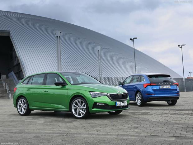 The new Skoda Scala is a sturdy family car