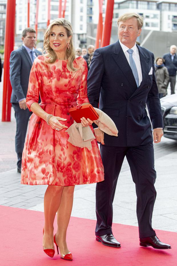 King Willem-Alexander of The Netherlands and Queen Maxima of The Netherlands on June 13, 2019 in Dublin, Ireland