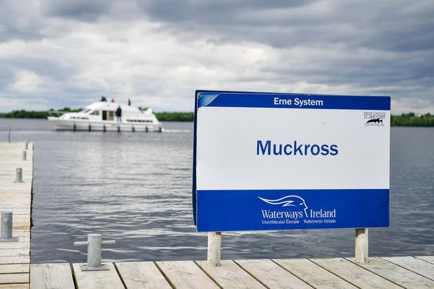 Emergency: The jetty at Muckross Pier, where the woman was rescued. Photo: Ronan McGrade/Pacemaker Press