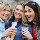 Enjoying the Bon Jovi Concert at the RDS at the weekend was Martina O'Donnell, Gillian Nolan and Yvonne Power all from Carrick On Suir Co Tipperary. Photo: Steve Humphreys