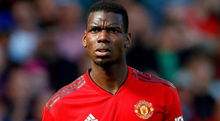 Paul Pogba has been linked with a move to Real Madrid. Photo: Martin Rickett/PA Wire