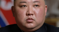 Dictator: Kim Jong-un had his brother and uncle murdered. Photo: KCNA via REUTERS
