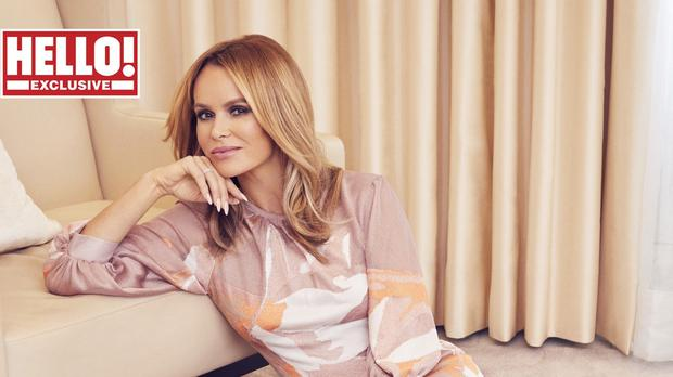 Amanda Holden for Hello! magazine (Hello! magazine/PA)