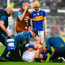 Tipperary medical staff rush to attend to Patrick 'Bonner' Maher after the wing-forward sustained a knee injury during the first half of yesterday's Munster SHC clash with Limerick in Semple Stadium. Photo: Ray McManus/Sportsfile