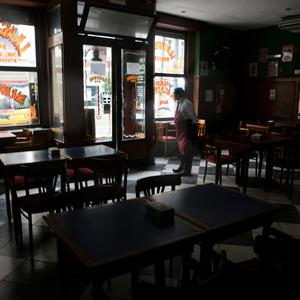 Bars and shops close their doors during the massive energy blackout in Argentina Photo by Ricardo Ceppi/Getty Images
