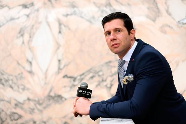 Suits us: Sean Cavanagh believes that Tyrone's form will benefit from a run through the All-Ireland SFC qualifiers. Photo by Ramsey Cardy/Sportsfile