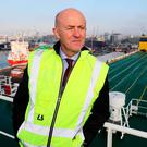 Dublin Port chief executive Eamonn O'Reilly. Photo: Brian Lawless/PA Wire
