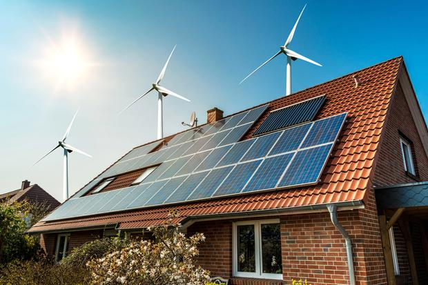There is to be a big focus placed on microgeneration, with households expected to start selling electricity back to the grid by 2021. Photo: Getty Images/iStockphoto