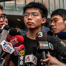 Joshua Wong: Called for Lam to step down as Hong Kong leader. Photo by Carl Court/Getty Images