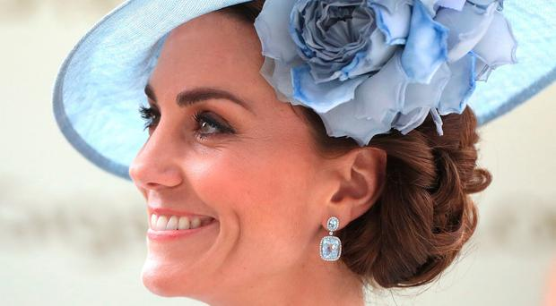The Duchess of Cambridge during day one of Royal Ascot at Ascot Racecourse.Mike Egerton/PA Wire