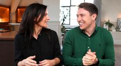 Swoop founders Andrea Reynolds and Ciaran Burke