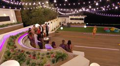 Love Island: SR5: Ep14 on ITV2 Pictured: Caroline oversees the dumping. Pic: ITV