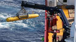 Search: A huge operation failed to find wreck of flight MH370. Photo: Reuters