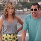 Jennifer Aniston and Adam Sandler in Netflix film Murder Mystery