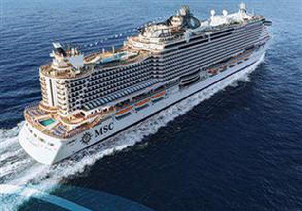 The MSC Seaview Cruise ship. Credit: MSC Cruises