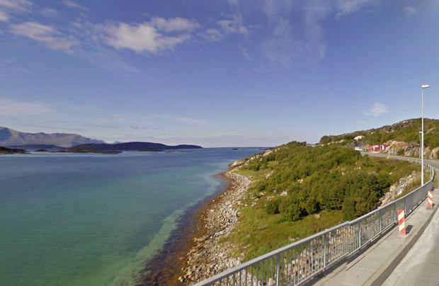 Sommaroey, north of the Arctic Circle (Photo: Google Maps)