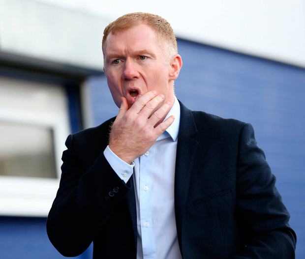 Paul Scholes. Photo: Barrington Coombs/PA Wire.
