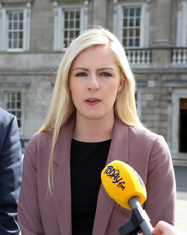 Criticism: Fianna Fáil TD Lisa Chambers attacked the Government's record