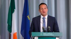 Leo Varadkar: said online safety bill is currently in the works. Picture: PA