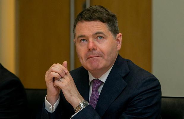 Finance Minister Paschal Donohoe insists the Public Service Pay Agreement is in place, and is budgeted for. Photo: Gareth Chaney/Collins