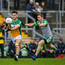 Offaly and London, pictured during their round one qualifiers, would have been excluded from the back door had a two-tier championship been in place this year. Photo by Harry Murphy/Sportsfile