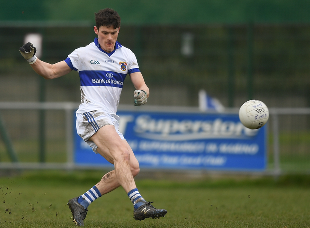 Diarmuid Connolly of St Vincents in action during the Dublin Senior Football League Division 1 match between St. Vincents and St. Oliver Plunketts ER at St. Vincent's GAA Club in Clontarf, Dublin. Photo by Eóin Noonan/Sportsfile