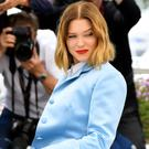 Lea Seydoux attends the photocall for