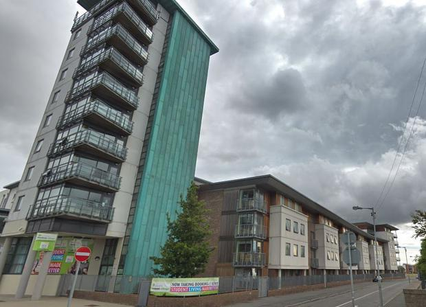 Whelan pleaded guilty at Dublin Circuit Criminal Court to trespass and theft of four apartments in Gateway Student village, Ballymun (pictured), on October 4, 2018.