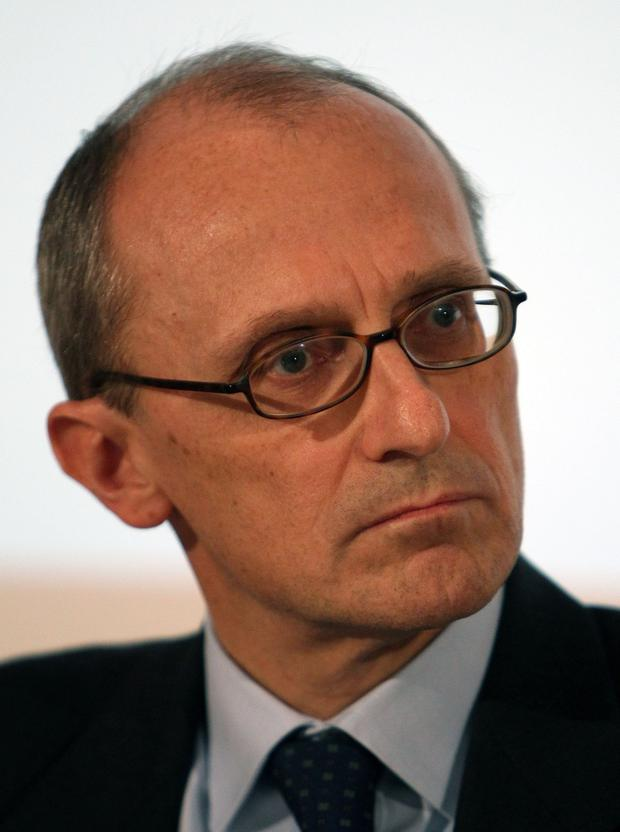 Worry: The ECB's Andrea Enria believes bonus culture results in short-term gain only