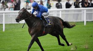 Blue Point ridden by James Doyle. Photo: Toby Melville/Reuters