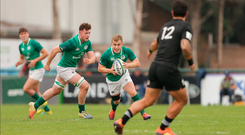 Craig Casey of Ireland during the New World Rugby U20 Championship Pool B match between Zealand and Ireland