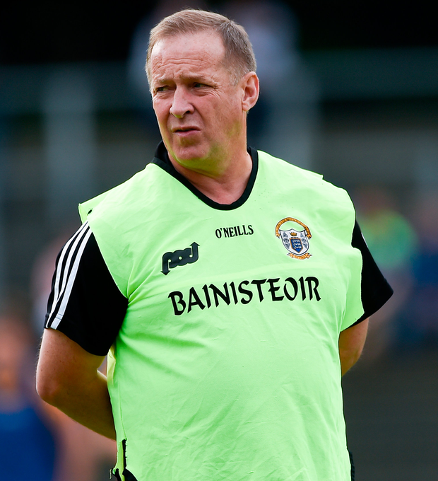Clare manager Colm Collins. Photo: Sportsfile