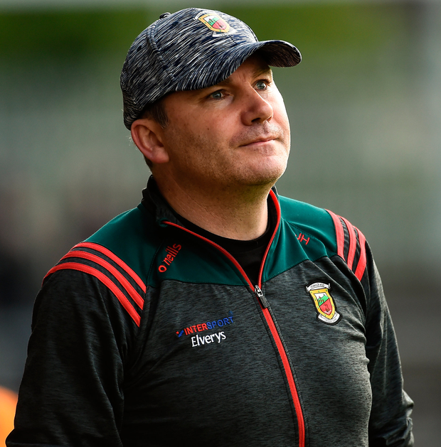 Mayo manager James Horan. Photo: Sportsfile