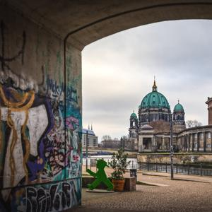Landmark: Berlin Cathedral and its surrounding streets. There are fears investment in the area could be scared away by the rent freeze