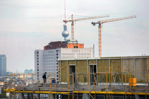 Changing shape: Berlin has seen a property boom in the past decade. Photo: Krisztian Bocsi/Bloomberg