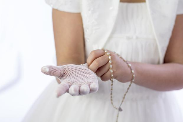 The average amount of money received by children for their communion this year was €617. Stock Image