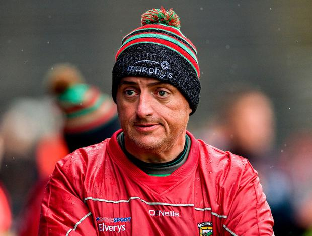 Mayo boss Peter Leahy. Photo: Matt Browne/Sportsfile