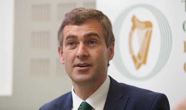 Criticism: Fianna Fáil senator Mark Daly has criticised the fact a Border poll has been left out of Government assessment. Photo: Gareth Chaney, Collins