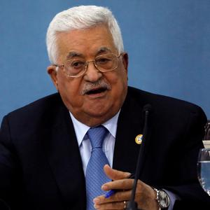 Palestinian President Mahmoud Abbas immediately rejected the plan. Photo: Reuters/Mohamad Torokman