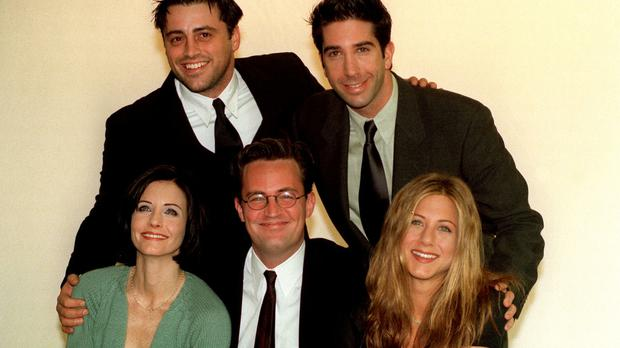 Courteney Cox teases Friends reunion with girls' night