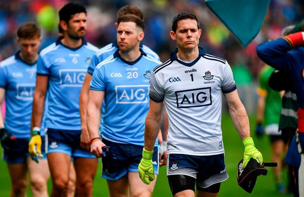 Trant has praised her male counterpart Stephen Cluxton with changing the face of the game. Photo: Ray McManus/Sportsfile