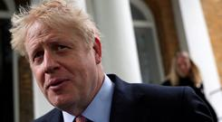 Boris Johnson is the Tory frontrunner to be the UK's next prime minister. Photo: REUTERS/Hannah Mckay/File Photo
