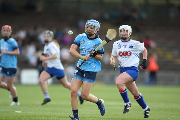 TWOM' RAIDER: Dublin's Laura Twomey in action against Waterford during the All-Ireland Senior Camogie Championship match at Walsh Park. Photo: iLivephotos