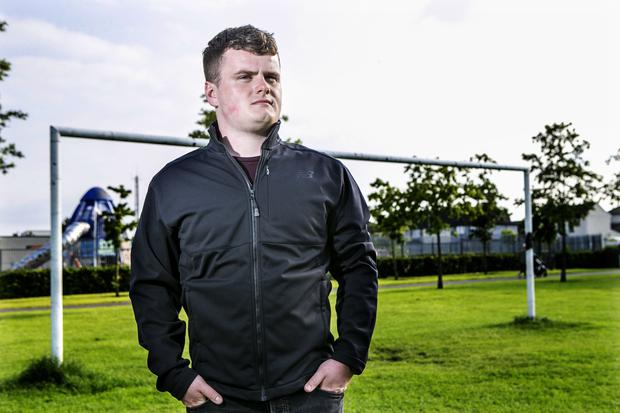Fed-up: Harry McCann says he has had enough of abuse from the sideline. Photo: Kyran O'Brien