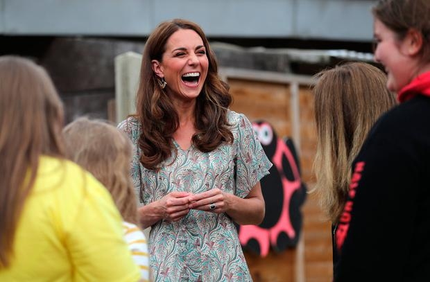 Catherine, Duchess of Cambridge joins a photography workshop for Action for Children, run by the Royal Photographic Society at Warren Park on June 25, 2019 in Kingston, England. (Photo by Chris Jackson/Getty Images)