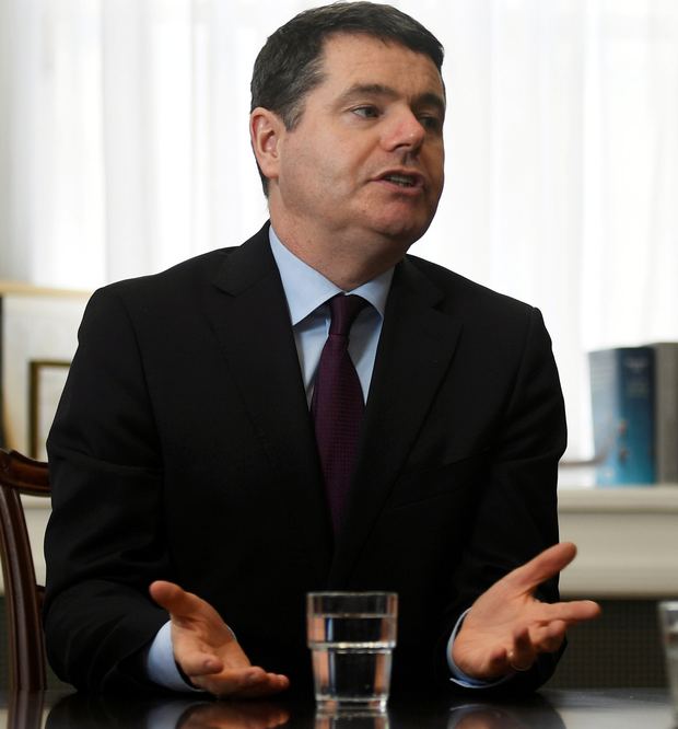 Paschal Donohoe. Photo: Reuters