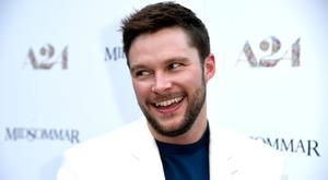 Jack Reynor attends the Premiere Of A24's