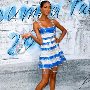 Jourdan Dunn attends The Summer Party 2019, Presented By Serpentine Galleries And Chanel, at The Serpentine Gallery on June 25, 2019 in London, England. (Photo by Gareth Cattermole/Getty Images)