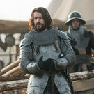 Padraic Delaney in Knightfall - season 2 premieres on History on July 2 at 9pm.